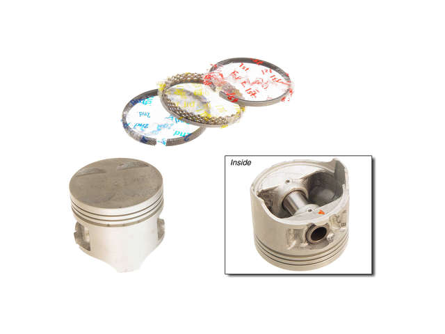 Honda Piston Set > Honda Civic Piston Set