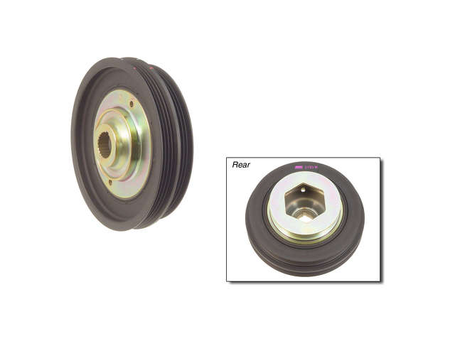 Honda AC Idler Pulley > Honda Del Sol Crankshaft Pulley