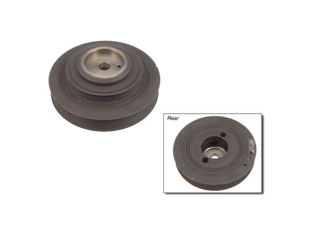 Mitsubishi AC Idler Pulley > Mitsubishi 3000GT Turbo Crankshaft Pulley