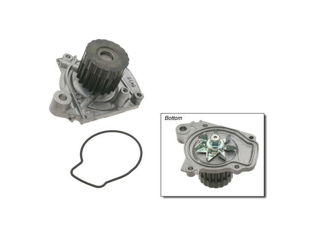 Honda Del Sol Power Steering Pump > Honda Del Sol Si Water Pump