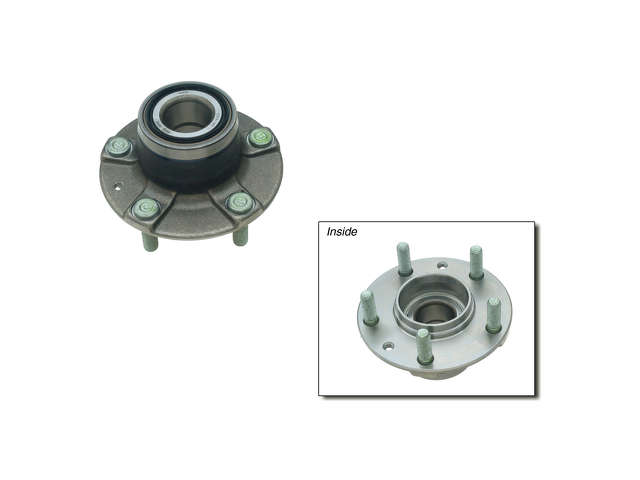 Mazda Auxiliary Fan Assembly > Mazda 626 Wheel Hub Assembly