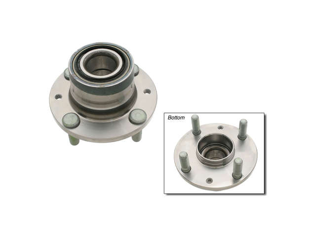Mazda Wheel Hub > Mazda Protege Wheel Hub Assembly