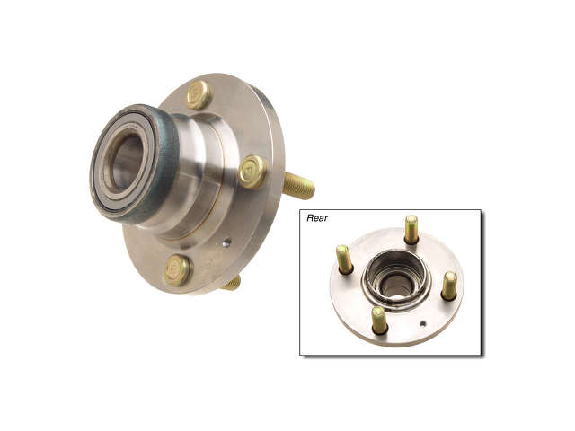 Mitsubishi Auxiliary Fan Assembly > Mitsubishi Mirage Wheel Hub Assembly