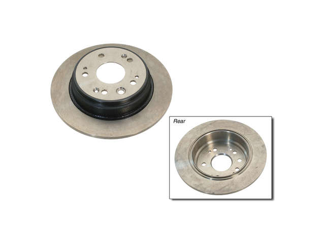 Honda Brake Disc > Honda CR-V Brake Disc