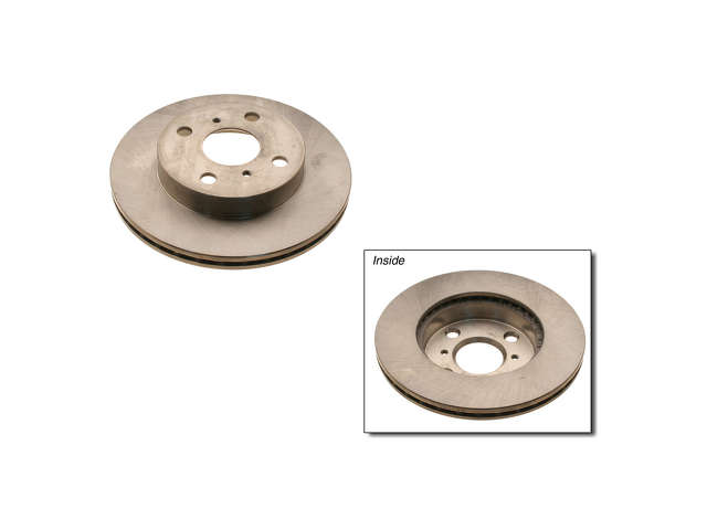 Toyota Echo Rotors > Toyota Echo Brake Rotor