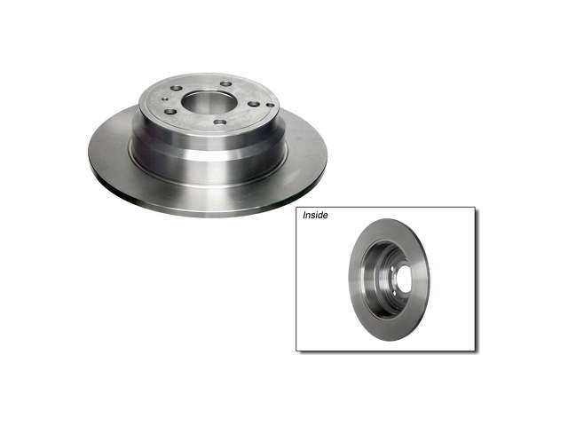 Volvo 850 Rotors > Volvo 850 Brake Rotor