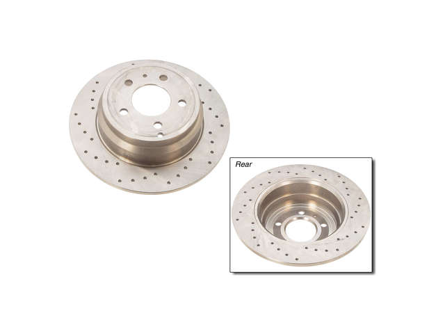 Volvo 850 Brake Rotors > Volvo 850 Brake Rotor
