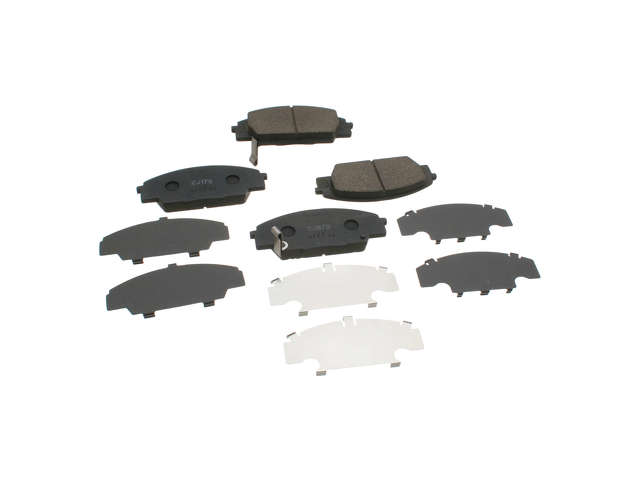 Acura RSX Brake Pads > Acura RSX Type-S Brake Pad Set