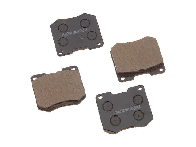 Mazda Tribute Brake Pads > Mazda Tribute Brake Pad Set