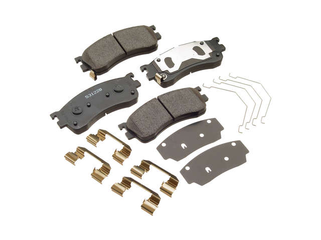 Mazda Brake Pads > Mazda Protege 5 Brake Pad Set