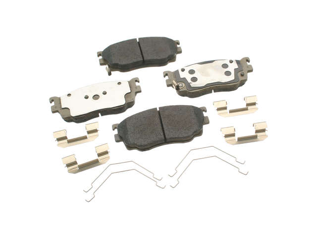 Mazda Brake Pads > Mazda Protege Speed Turbo Brake Pad Set