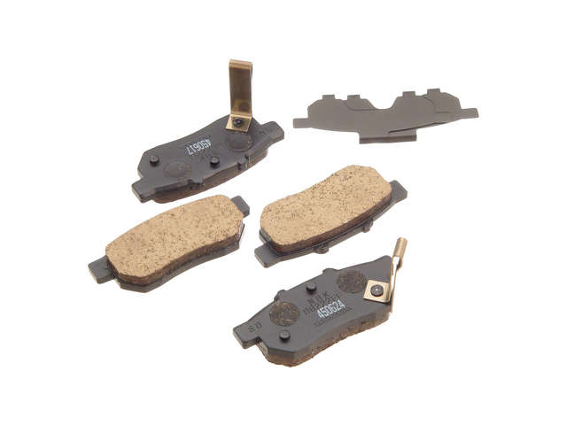 Honda CRX Brake Pads > Honda CRX Brake Pad Set