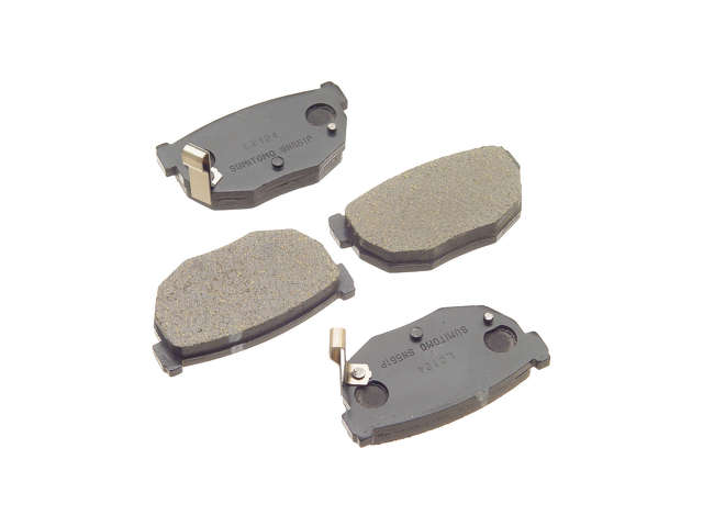 Nissan 300ZX Brake Pads > Nissan 300ZX Brake Pad Set