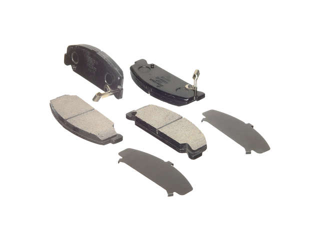 Honda Brake Pads > Honda Del Sol S Brake Pad Set