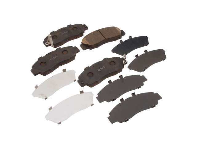 Honda Brake Pad Set > Honda Prelude Brake Pad Set