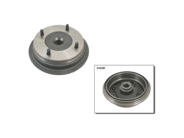 Subaru Brake Drum > Subaru Hatchback Brake Drum