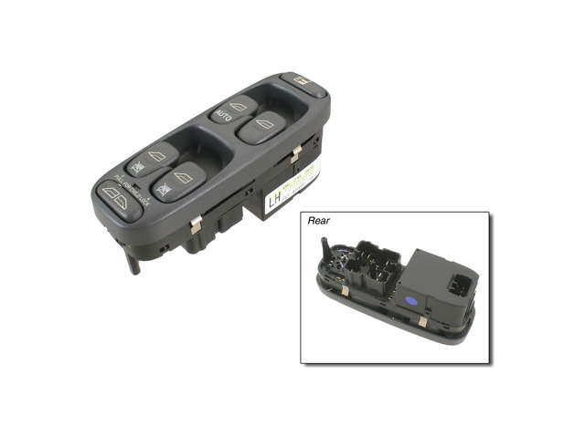 Volvo C70 Turn Signal Switch > Volvo C70 Window Switch Panel
