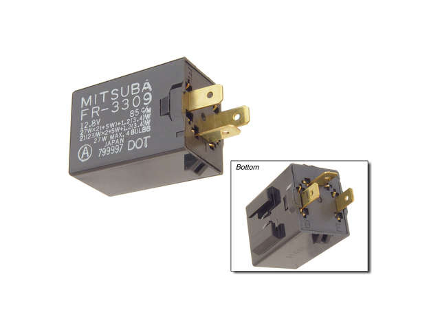 Honda ABS Relay > Honda Civic Flasher Relay