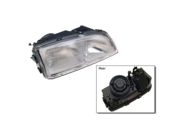 Volvo V70 Grille Assembly > Volvo V70 Headlight Assembly