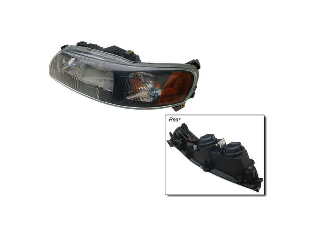 Volvo Xc70 Headlight Assembly > Volvo XC70 Headlight Assembly