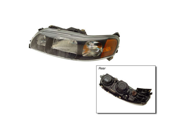 Volvo S60 Grille Assembly > Volvo S60 Headlight Assembly
