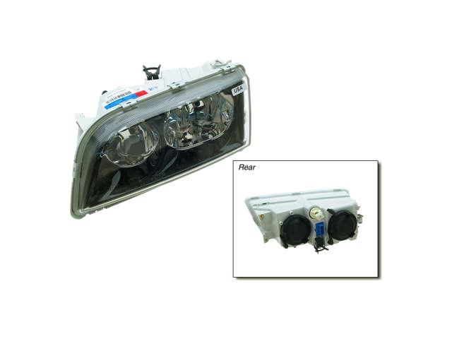 Volvo V40 Grille Assembly > Volvo V40 Headlight Assembly