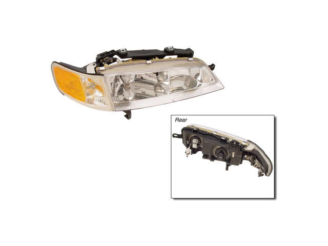 Honda Grille Assembly > Honda Accord Headlight Assembly