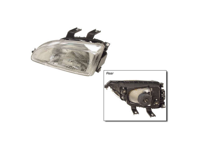 Honda Civic Tail Light Assembly > Honda Civic Headlight Assembly