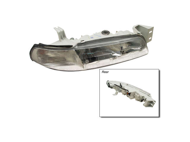 Mazda 6 Grille Assembly > Mazda 626 Headlight Assembly