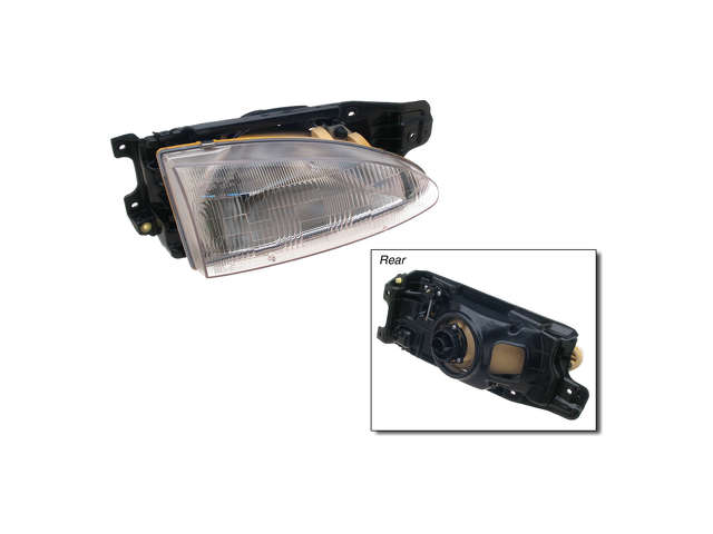 Hyundai Accent Grille Assembly > Hyundai Accent Headlight Assembly