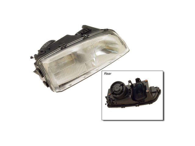 Volvo C70 Grille Assembly > Volvo C70 Headlight Assembly