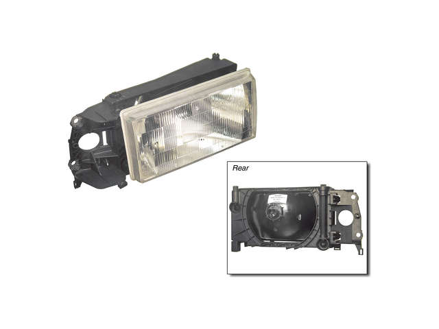 Volvo 740 Headlight Assembly > Volvo 740 Headlight Assembly