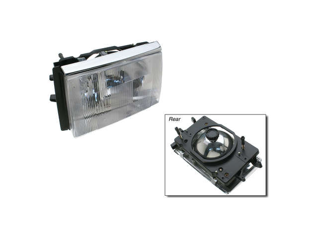 Volvo Headlight Assembly > Volvo 240 Headlight Assembly