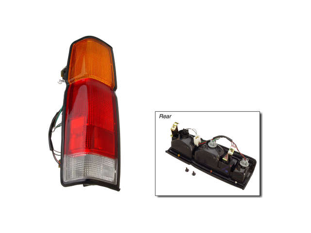 Nissan Tail Light Assembly > Nissan Hardbody Tail Light Assembly