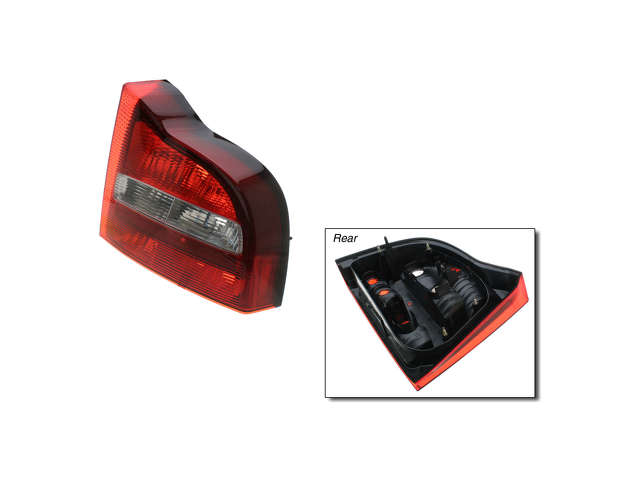 Volvo S80 Tail Light Lens > Volvo S80 Tail Light Lens