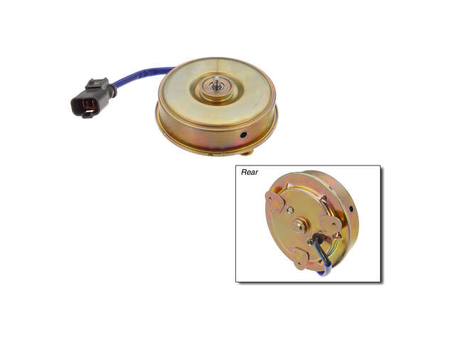 Honda Accord Fan Clutch > Honda Accord AC Condenser Fan Motor