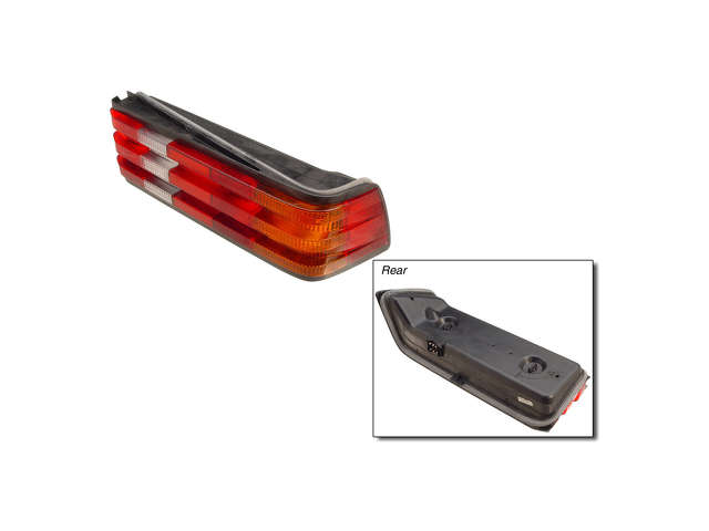 Mercedes a 2018200664 tail light assembly right w201 for Mercedes benz tail light lens