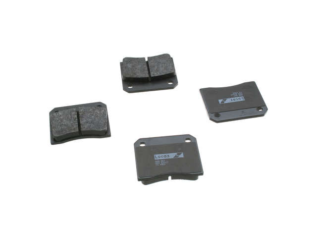 FBS - TRW OE Replacement Brake Pad Set w/ Shims - B2C W0133-1606598-TRW
