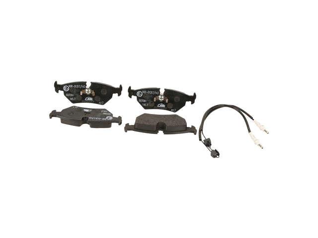 FBS - ATE Original OE Formulated Brake Pad Set w/ Shims - B2C W0133-1609495-ATE