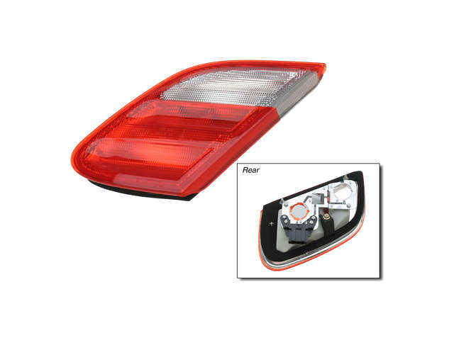 Mercedes a 2088201264 tail light assembly inner right for Mercedes benz tail light lens