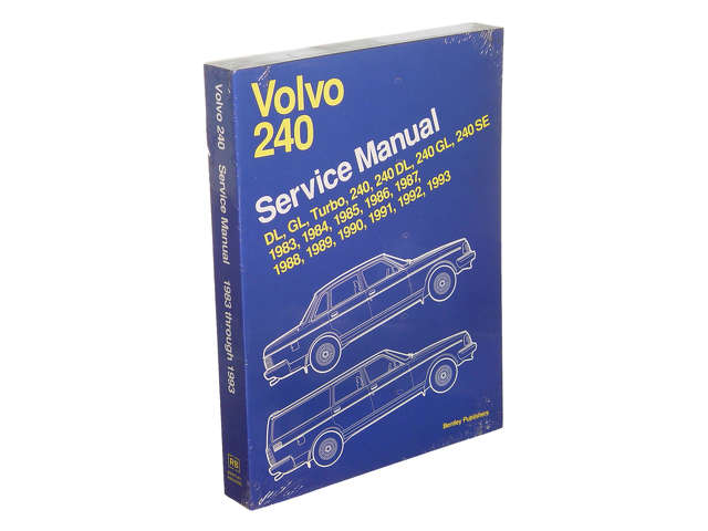 FBS - Bentley Paper Repair Manual Volvo 240 1983-93 - B2C W0133-1621091-BNT