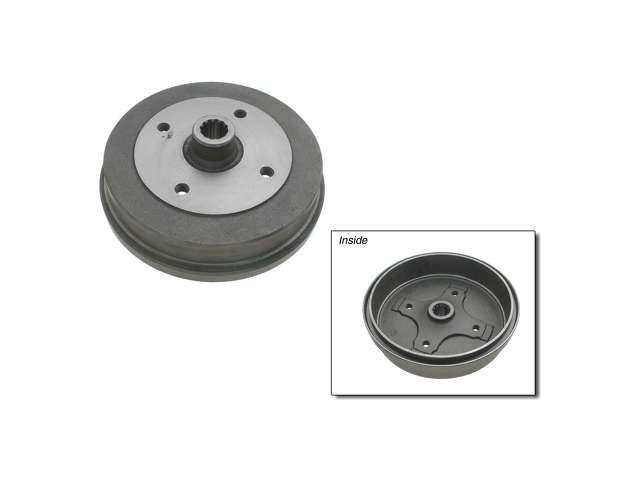 FBS - Zimmermann Brake Drum (Rear) - B2C W0133-1621119-ZIM
