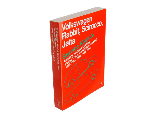 FBS - Bentley Paper Repair Manual VW Rabbit/Jetta A1 - B2C W0133-1621199-BNT