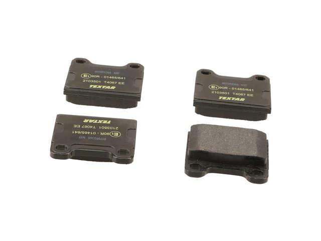 FBS - Textar OE Replacement Brake Pad Set w/ Shims - B2C W0133-1622814-TEX