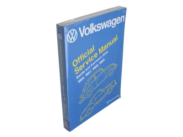 FBS - Bentley Paper Repair Manual VW Bettle/Ghia Type 1 - B2C W0133-1623746-BNT
