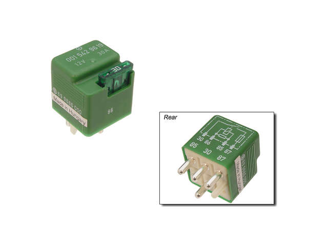 Genuine - Auxiliary Engine Cooling Fan Relay - C2C W0133-1623840-OES