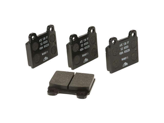 FBS - ATE Original OE Formulated Brake Pad Set w/ Shims (Front) - B2C W0133-1624952-ATE