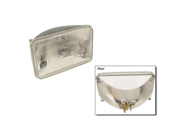 FBS - Osram/Sylvania SilverStar Halogen Sealed Beam Bulb - Headlight - B2C W0133-1628079-OSR