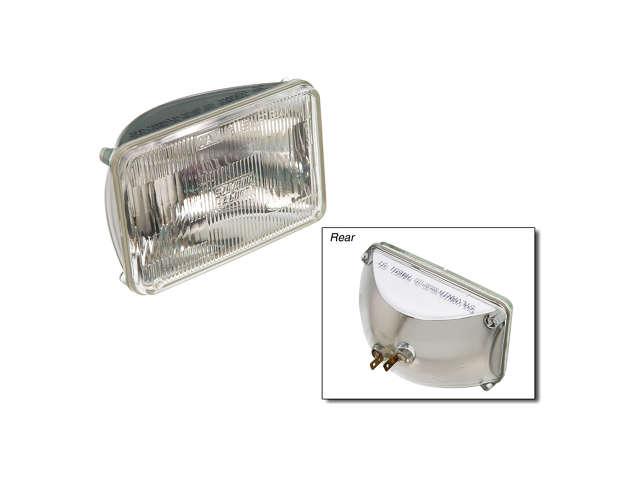 FBS - Osram/Sylvania SilverStar Halogen Sealed Beam Bulb - Headlight - B2C W0133-1628199-OSR