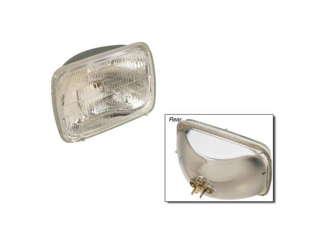 FBS - Osram/Sylvania Basic Halogen Sealed Beam Bulb - Headlight Pack of 1 - B2C W0133-1634655-OSR